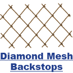 Diamond Mesh Backstops