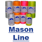 Colored, Braided or Twisted Mason Line