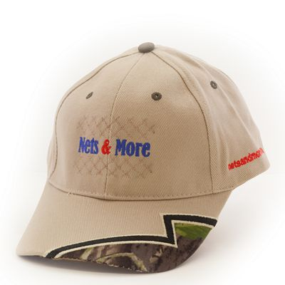 Nets & More Hat Lightning Khaki