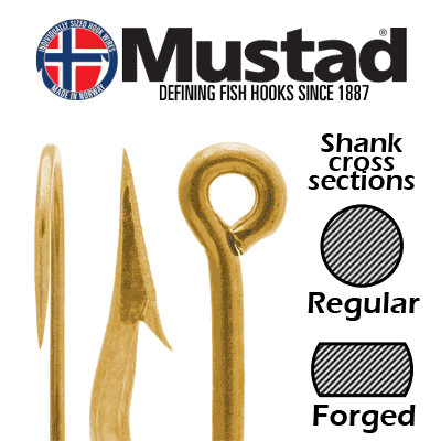 Mustad hooks, highest quality hooks with superior points