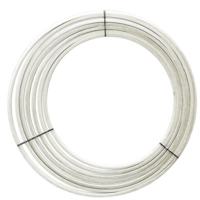 Fiberglass hoops, made in USA. No sharp edges, perfectly round.