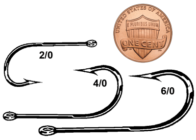 Eagle Claw 354SS Fishing Hooks