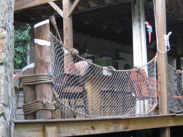 hand rail nets