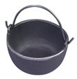 Cast iron pot for melting lead